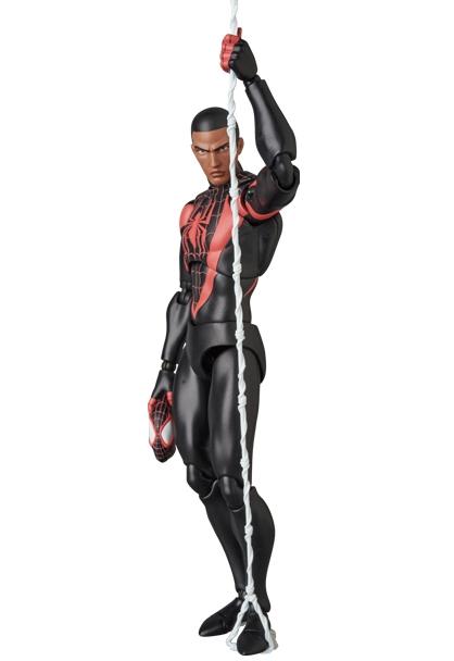 Marvel MAFEX No.092 Spider-Man (Miles Morales)-0