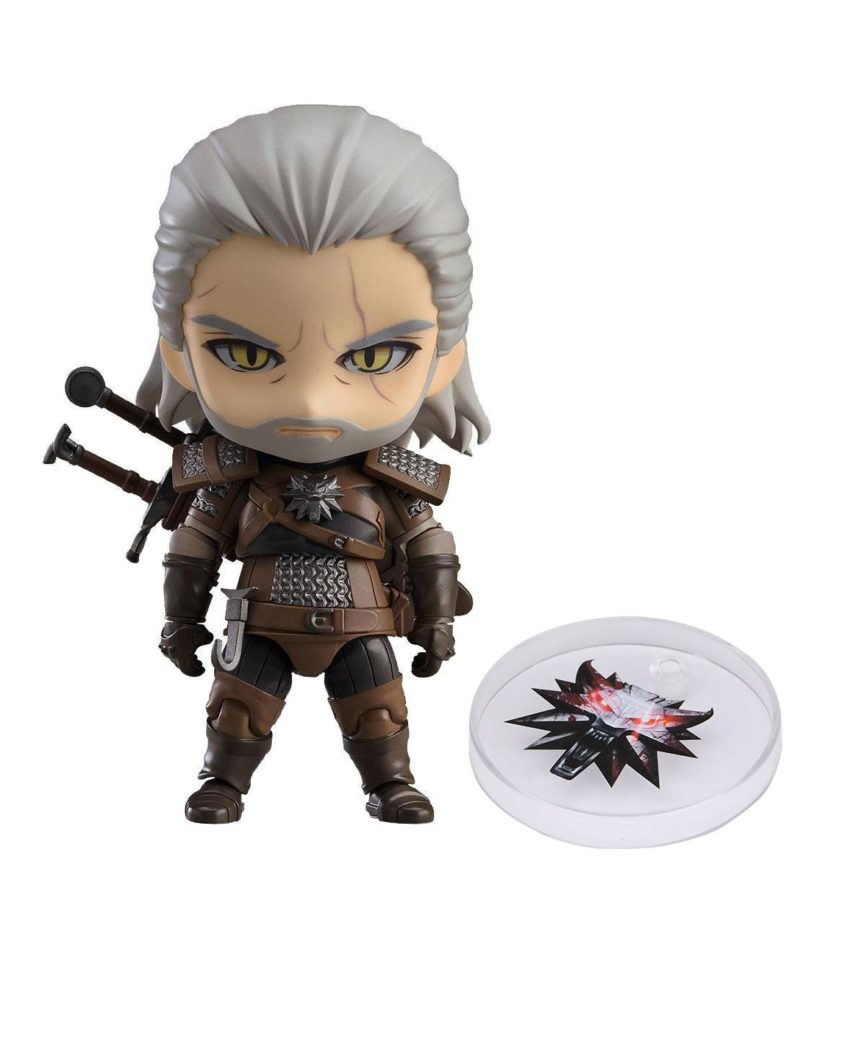 The Witcher 3 Wild Hunt Nendoroid Geralt (Exclusive base version)-0
