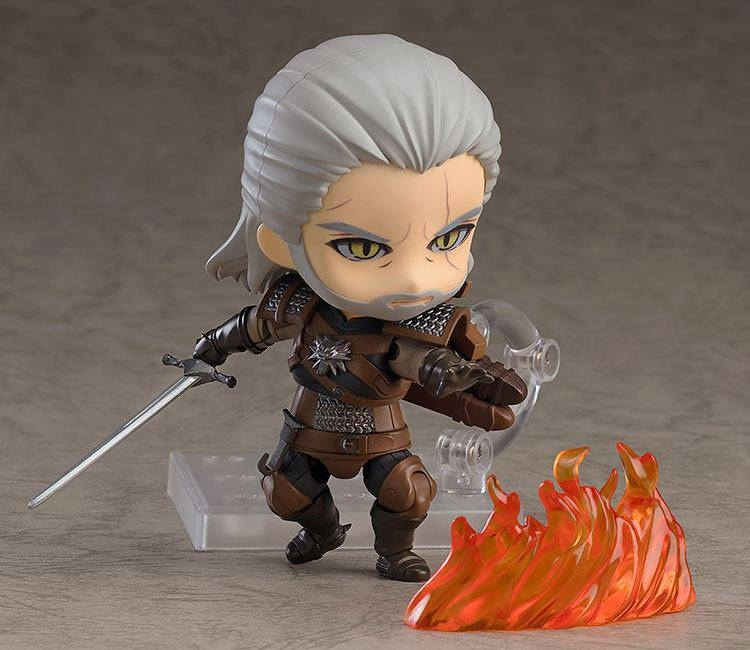 The Witcher 3 Wild Hunt Nendoroid Geralt (Exclusive base version)-11082