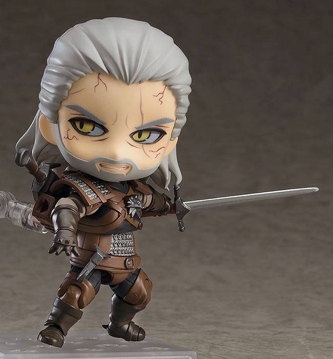 The Witcher 3 Wild Hunt Nendoroid Geralt (Exclusive base version)-11084