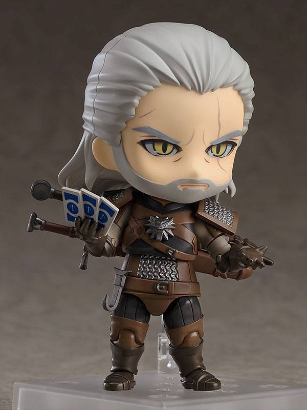 The Witcher 3 Wild Hunt Nendoroid Geralt (Exclusive base version)-11085