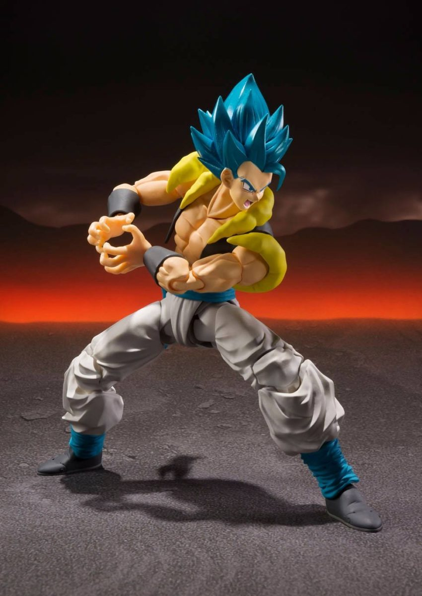 Dragonball Super Broly S.H. Figuarts Super Saiyan God Super Saiyan Gogeta-11321