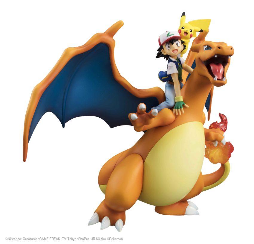 Pokemon G.E.M. Series Ash Ketchum & Pikachu & Charizard-0