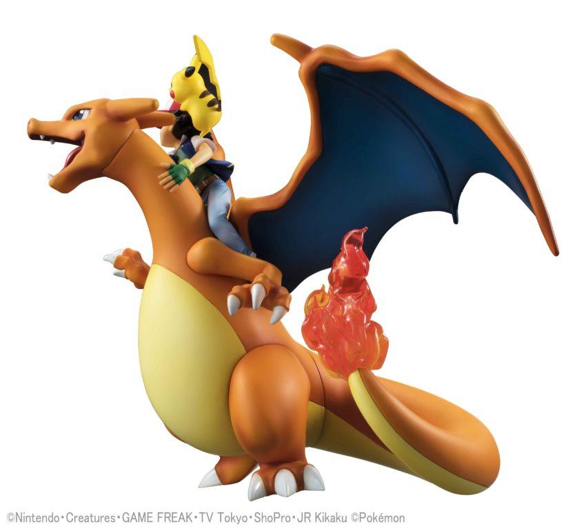 Pokemon G.E.M. Series Ash Ketchum & Pikachu & Charizard-11844