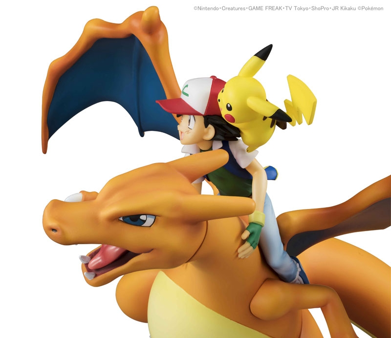 Pokemon G.E.M. Series Ash Ketchum & Pikachu & Charizard-11847