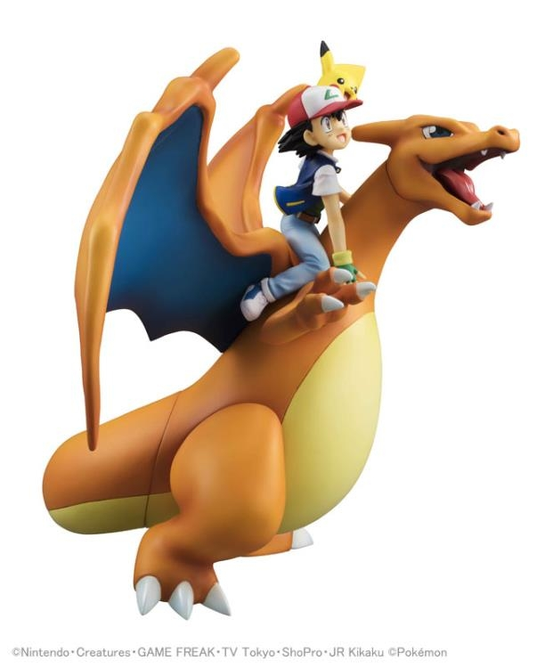 Pokemon G.E.M. Series Ash Ketchum & Pikachu & Charizard-11846