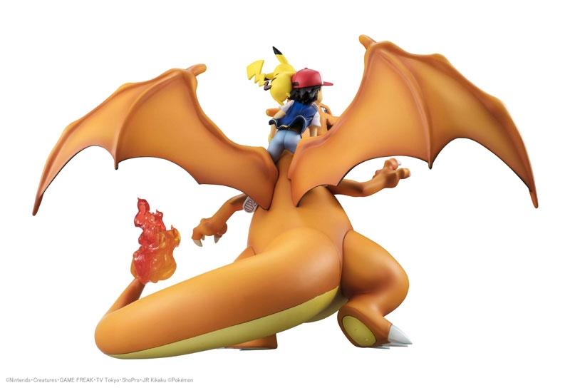 Pokemon G.E.M. Series Ash Ketchum & Pikachu & Charizard-11845