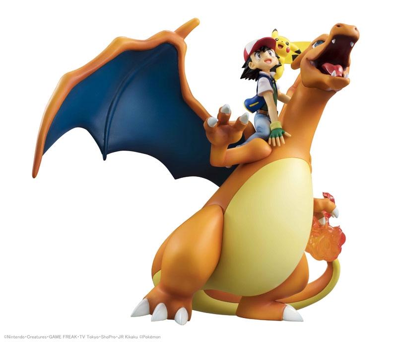 Pokemon G.E.M. Series Ash Ketchum & Pikachu & Charizard-11848
