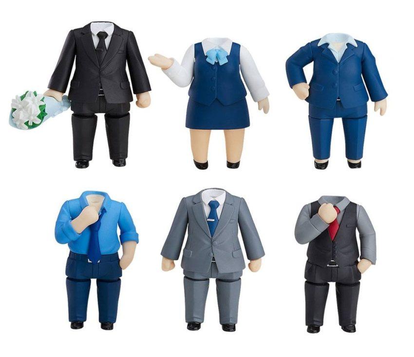 Nendoroid More 6-pack Decorative Parts for Nendoroid Figures Dress-Up Suits 02-0