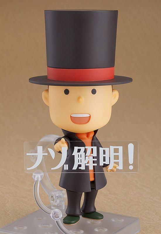 Layton Mystery Detective Agency Nendoroid Professor Layton-12055