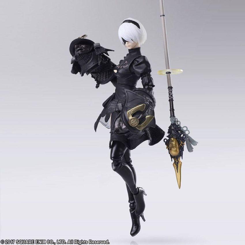 NieR Automata Bring Arts Action Figure YoRHa No.2 Type B Version 2.0-11979