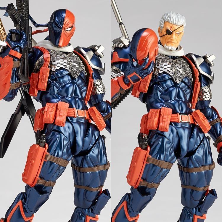 DC Comics Amazing Yamaguchi Revoltech No.011 Deathstroke-12105