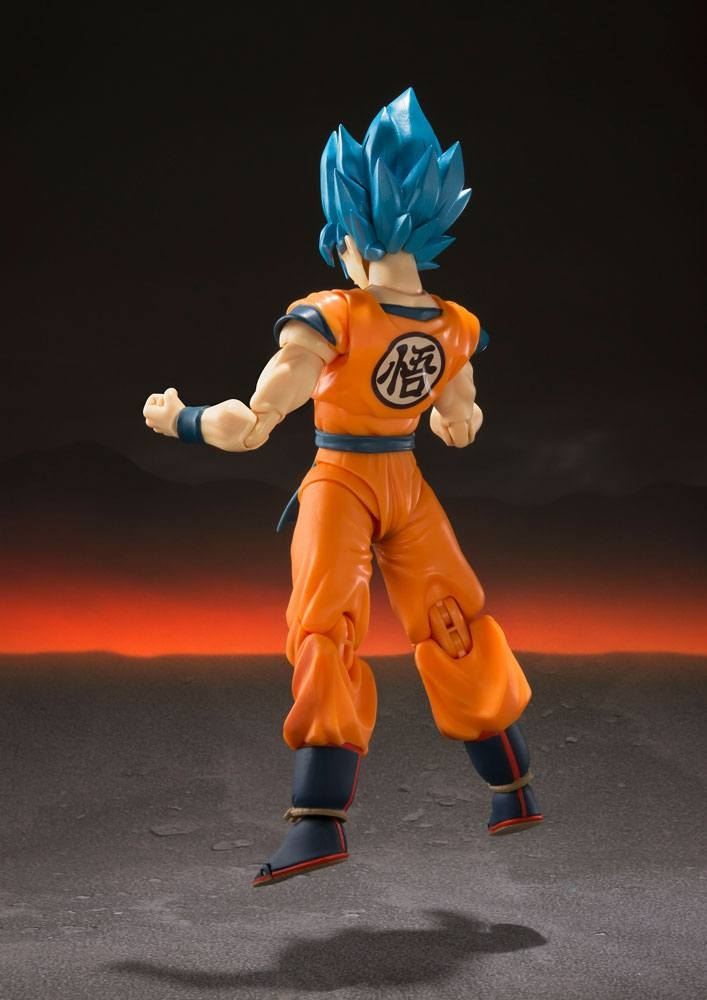 Dragonball Super Broly S.H. Figuarts Super Saiyan God Super Saiyan Goku Super -12113