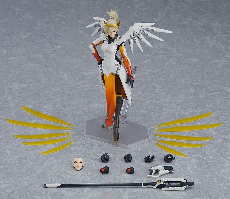 Overwatch Figma Action Figure Mercy-12266