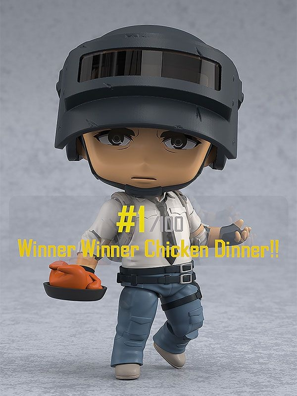 Playerunknown's Battlegrounds (PUBG) Nendoroid The Lone Survivor-12561