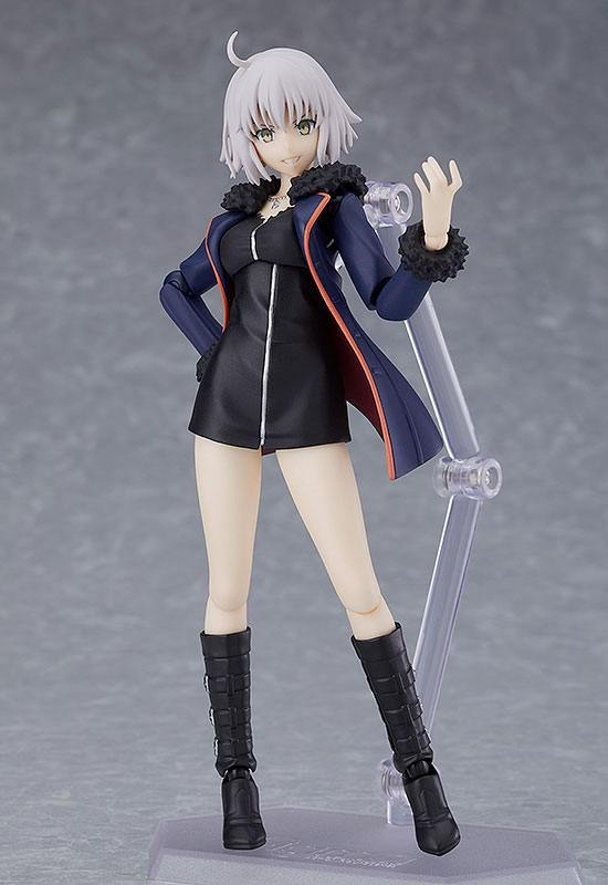 Fate/Grand Order Figma Action Figure Avenger/Jeanne d'Arc (Alter) Shinjuku Ver.-12360