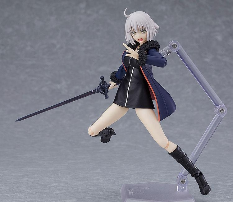 Fate/Grand Order Figma Action Figure Avenger/Jeanne d'Arc (Alter) Shinjuku Ver.-12362