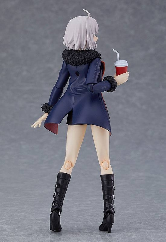 Fate/Grand Order Figma Action Figure Avenger/Jeanne d'Arc (Alter) Shinjuku Ver.-12364