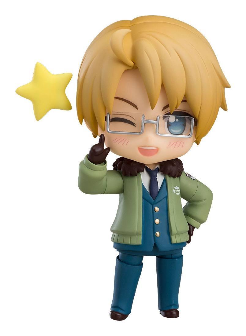 Hetalia World Stars Nendoroid Action Figure USA -0