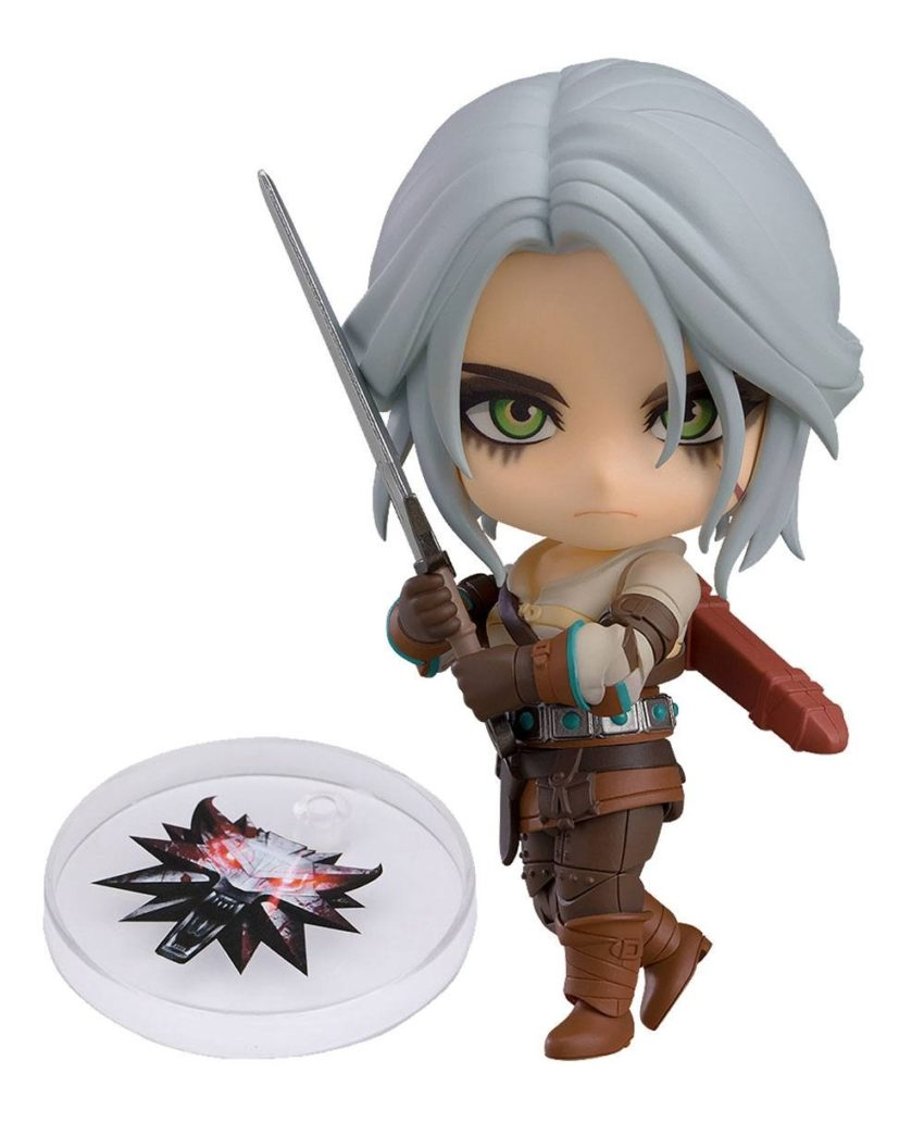 The Witcher 3 Wild Hunt Nendoroid Action Figure Ciri (Exclusive base version)-0