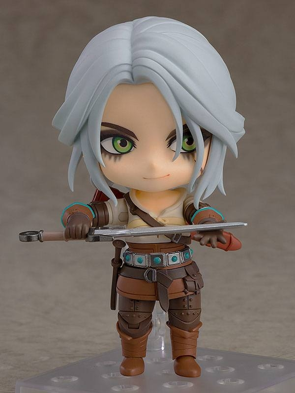 The Witcher 3 Wild Hunt Nendoroid Action Figure Ciri (Exclusive base version)-13355