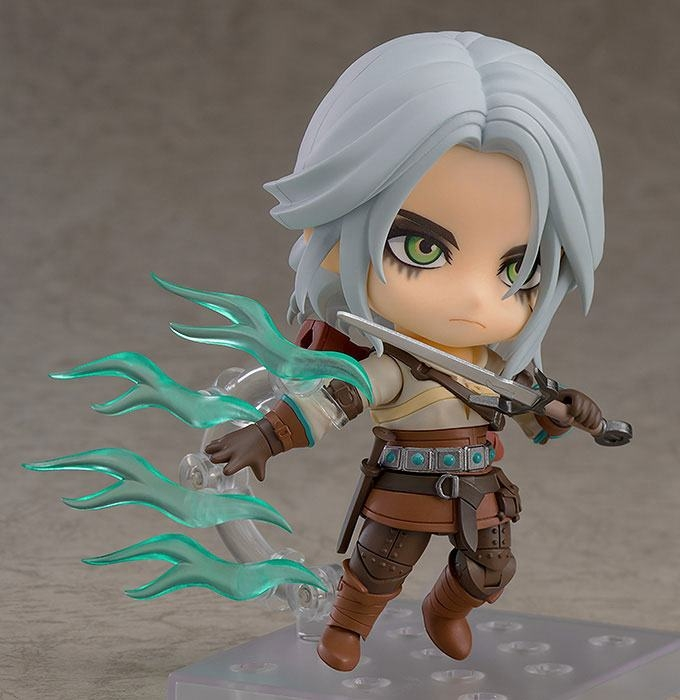 The Witcher 3 Wild Hunt Nendoroid Action Figure Ciri (Exclusive base version)-13358