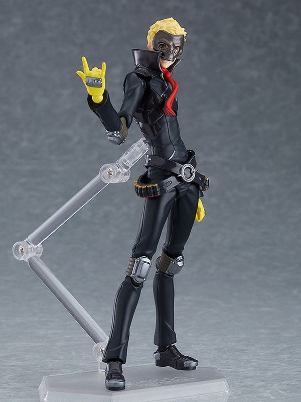 Persona 5 The Animation Figma Action Figure Skull-13252
