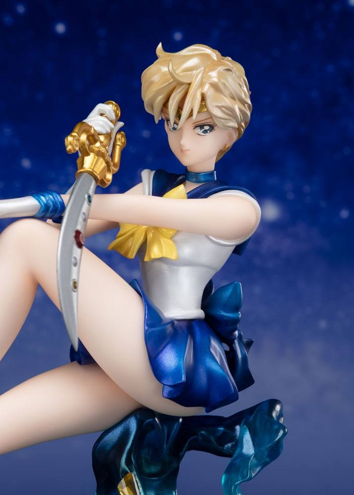 Sailor Moon FiguartsZERO Chouette PVC Statue Sailor Uranus Tamashii Web Exclusive-13736