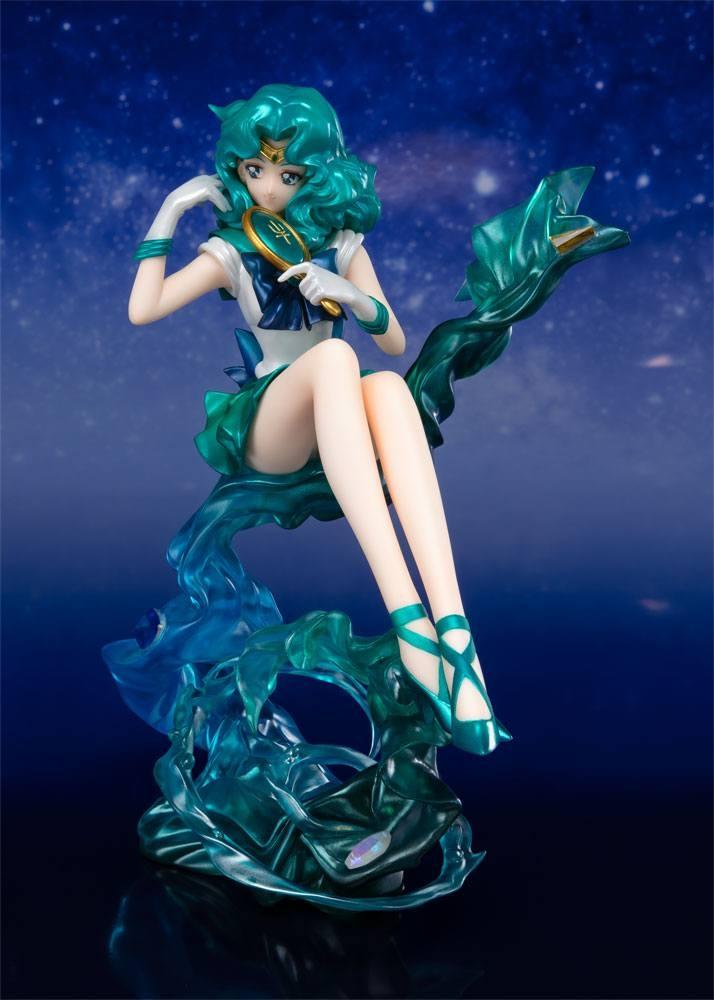Sailor Moon FiguartsZERO Chouette PVC Statue Sailor Neptune Tamashii Web Exclusive -13733