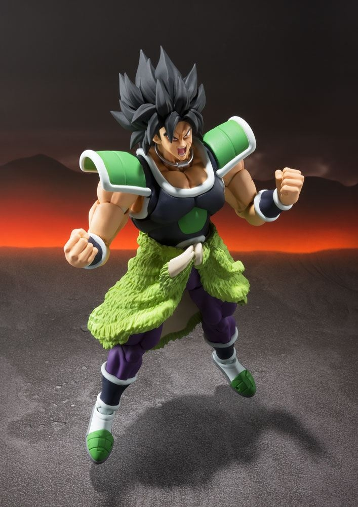 Dragonball Super Broly S.H. Figuarts Action Figure Broly-13456