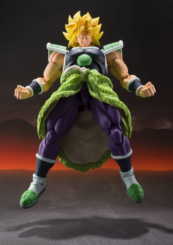 Dragonball Super Broly S.H. Figuarts Action Figure Broly-13457