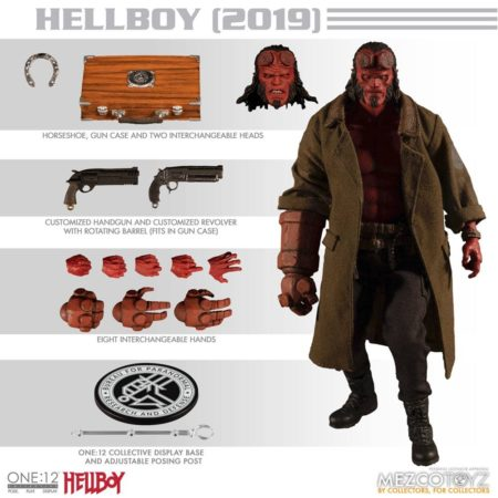 Hellboy (2019) Action Figure 1/12 Hellboy-0