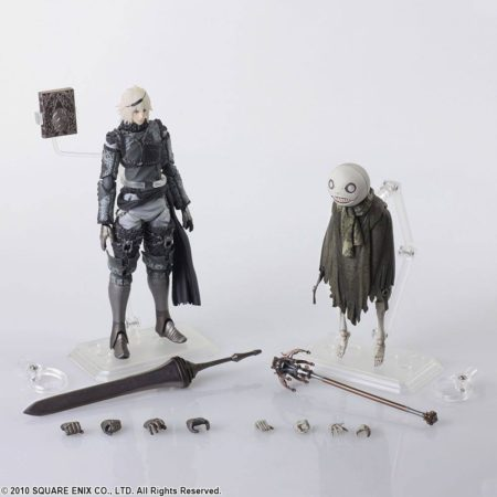 NieR RepliCant Bring Arts Action Figure 2-Pack Nier & Emil-0