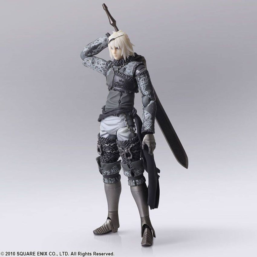 NieR RepliCant Bring Arts Action Figure 2-Pack Nier & Emil-13835