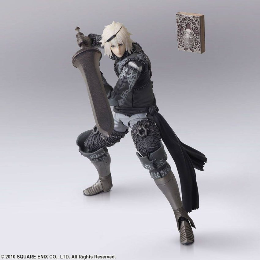 NieR RepliCant Bring Arts Action Figure 2-Pack Nier & Emil-13837