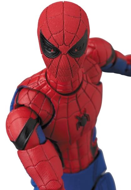 Spider-Man Homecoming MAFEX Spider-Man (Version 1.5)-14087