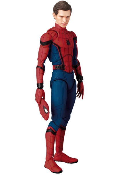 Spider-Man Homecoming MAFEX Spider-Man (Version 1.5)-0