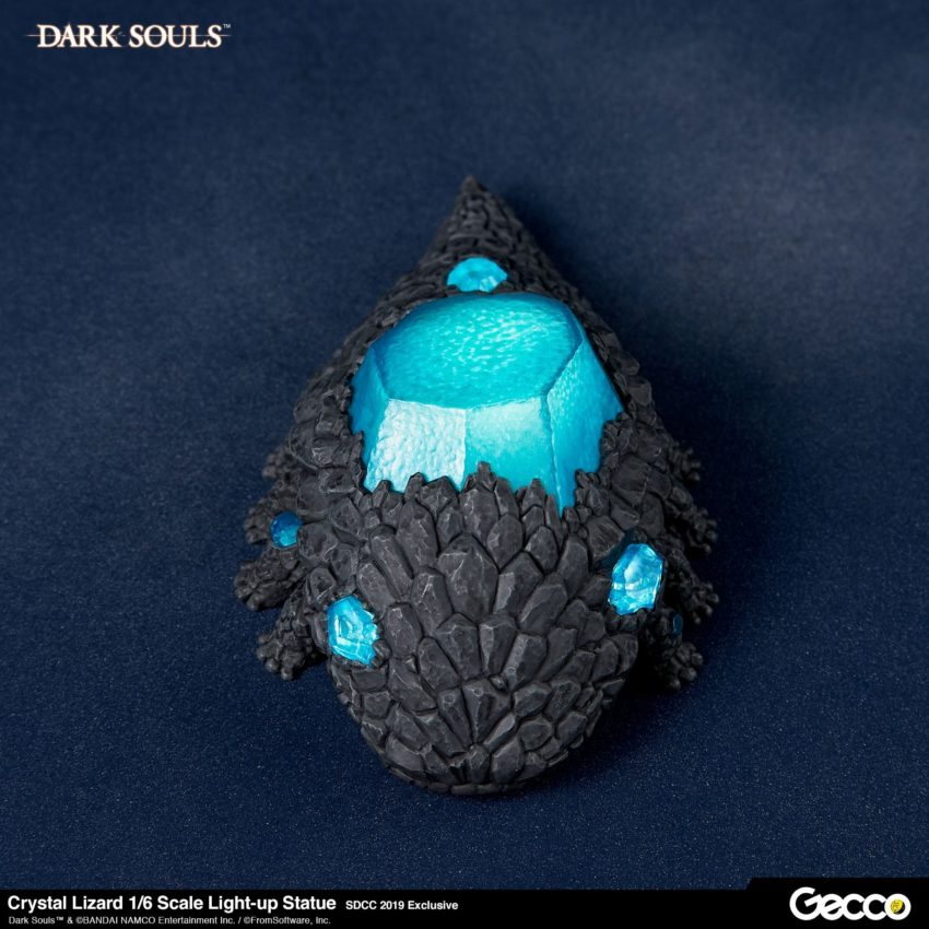 Dark Souls PVC Statue 1/6 Crystal Lizard SDCC 2019 Exclusive-14491