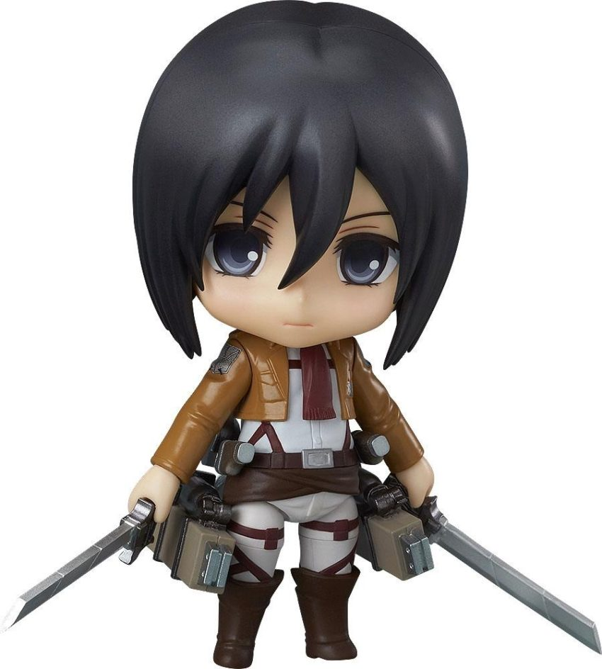 Attack on Titan Nendoroid Action Figure Mikasa Ackerman-0
