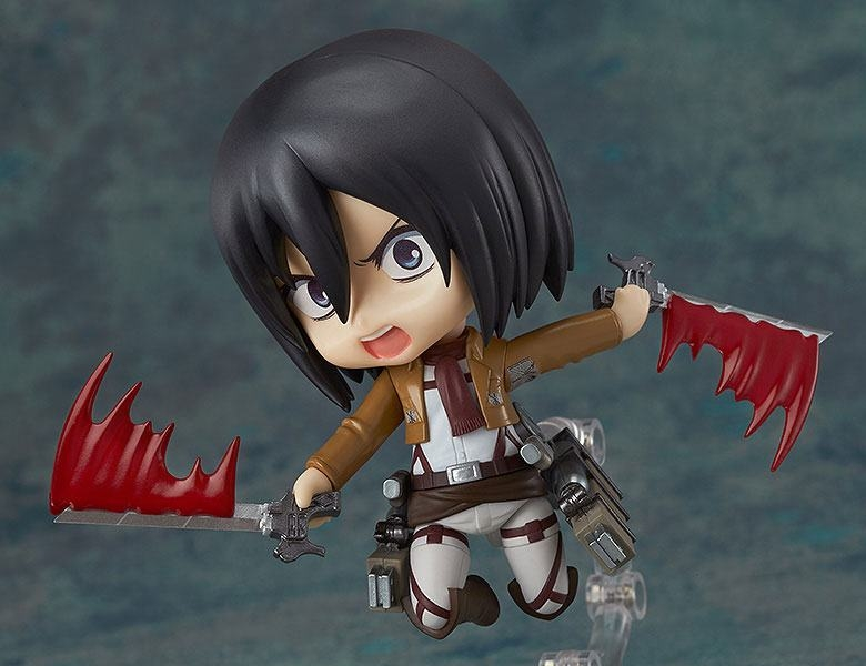 Attack on Titan Nendoroid Action Figure Mikasa Ackerman-14069