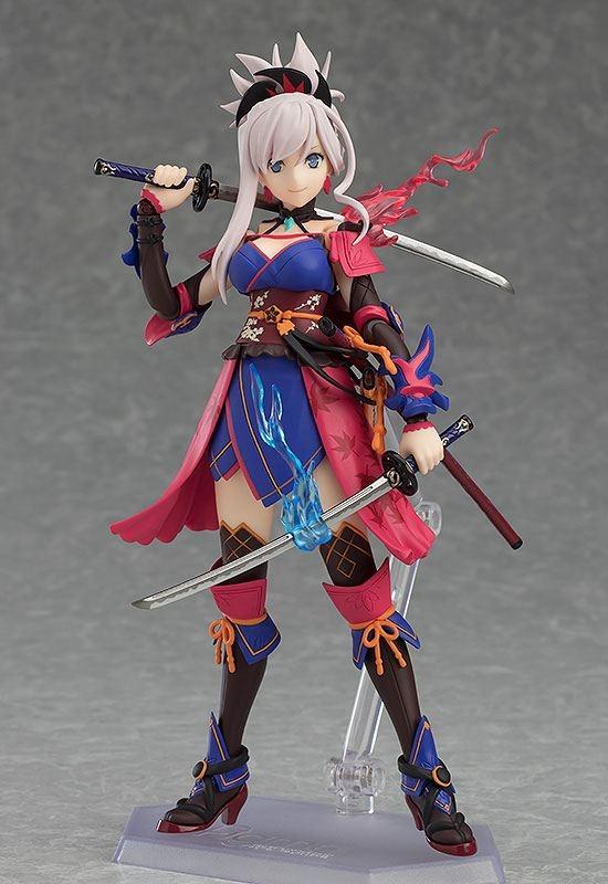 Fate/Grand Order Figma Action Figure Saber/Miyamoto Musashi-13982