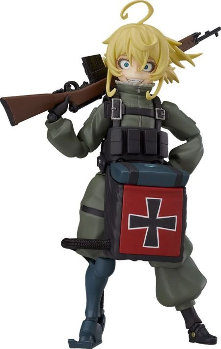 Saga of Tanya the Evil - The Movie Figma Action Figure Tanya Degurechaff-0