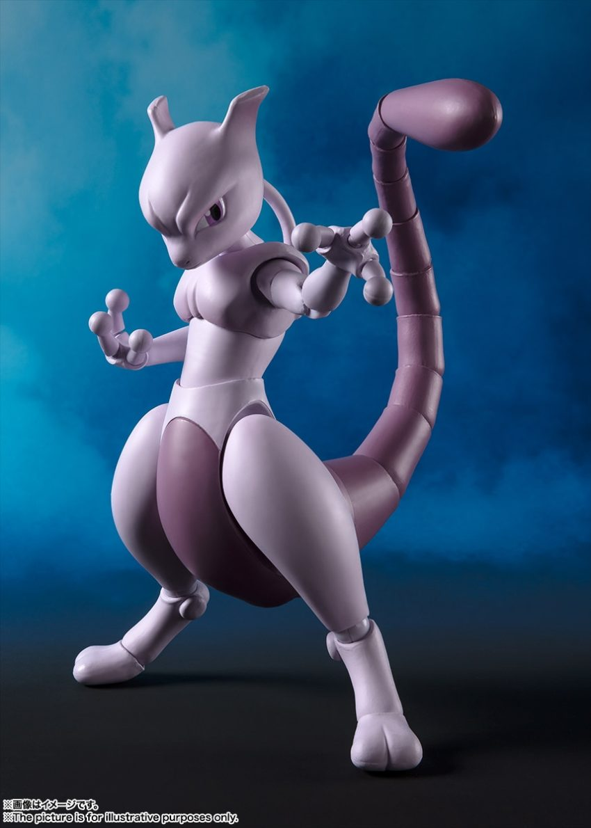 Pokemon S.H.Figuarts Mewtwo (Arts Remix)-0