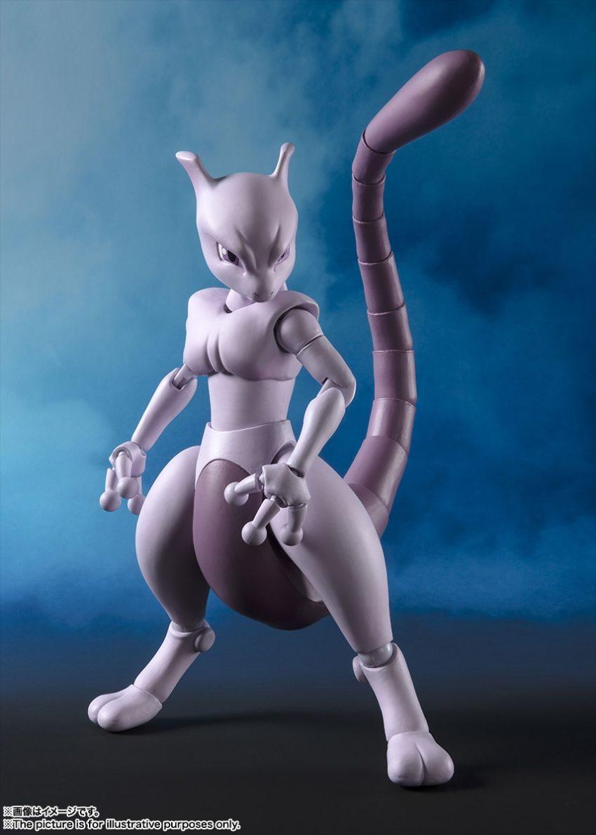 Pokemon S.H.Figuarts Mewtwo (Arts Remix)-14952