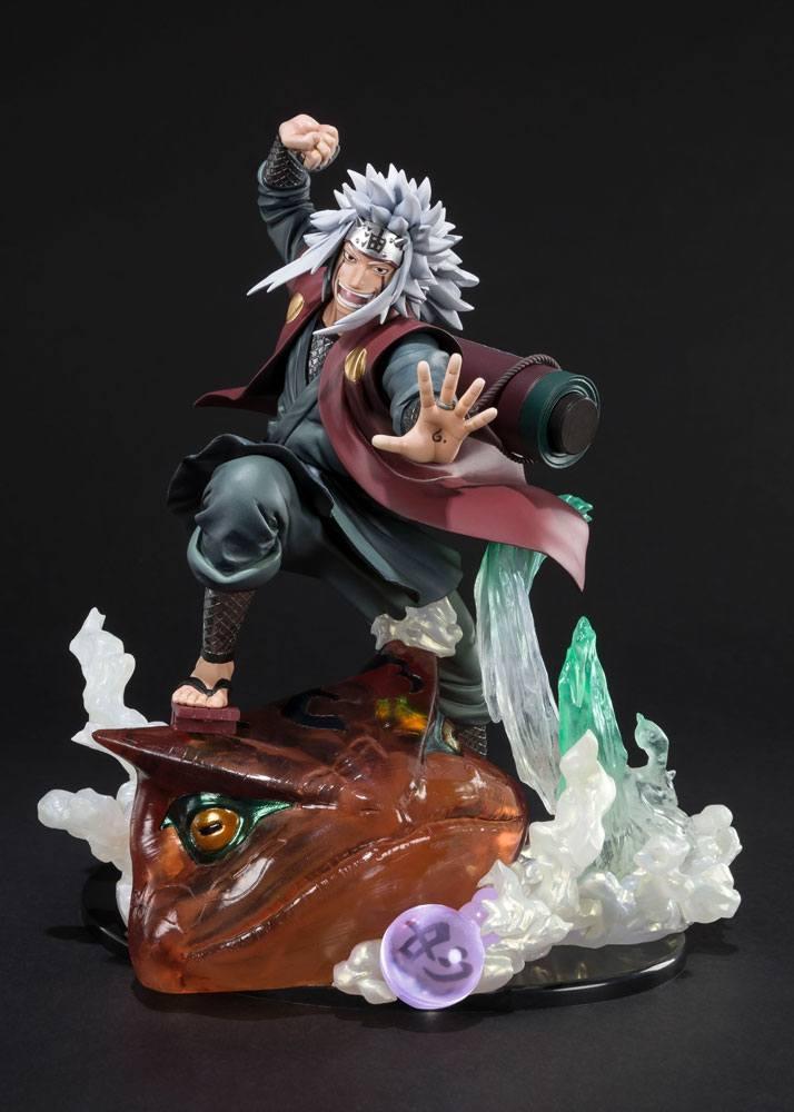 Naruto Shippuden FiguartsZERO PVC Statue Jiraiya Kizuna Relation-14567
