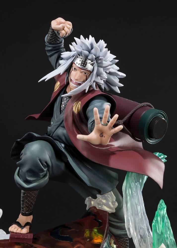 Naruto Shippuden FiguartsZERO PVC Statue Jiraiya Kizuna Relation-0