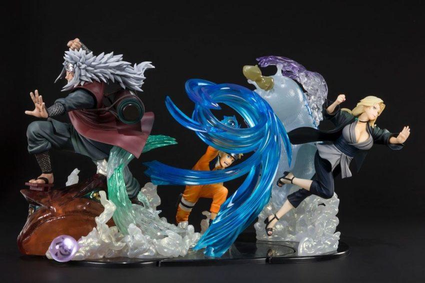 Naruto Shippuden FiguartsZERO PVC Statue Jiraiya Kizuna Relation-14570