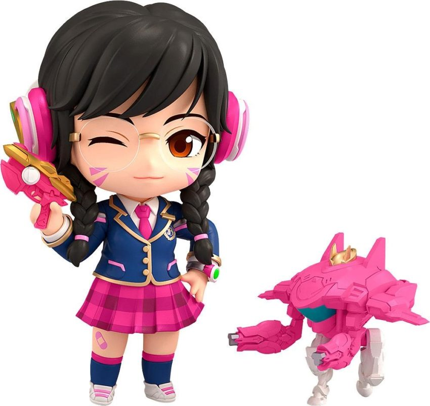 Overwatch Nendoroid Action Figure D.Va Academy Skin Edition-0
