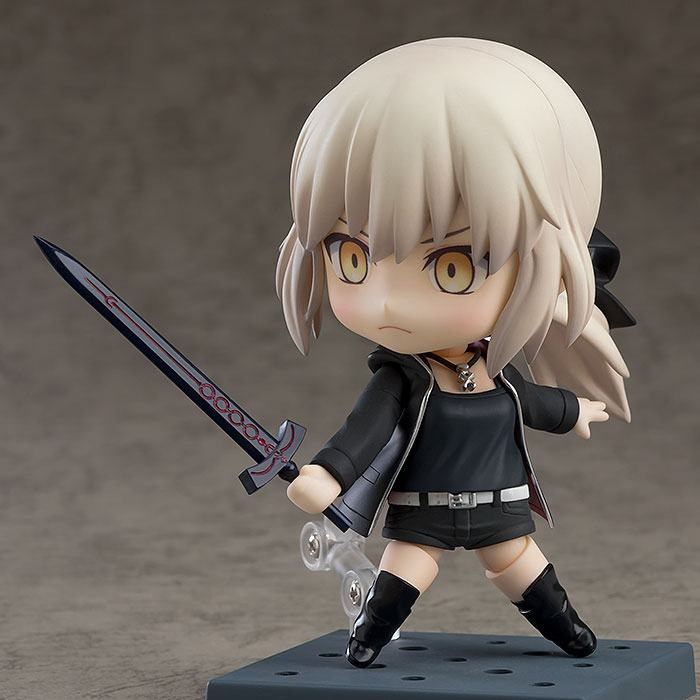 Fate/Grand Order Nendoroid Saber/Altria Pendragon Shinjuku Ver. & Cuirassier Noir-14624