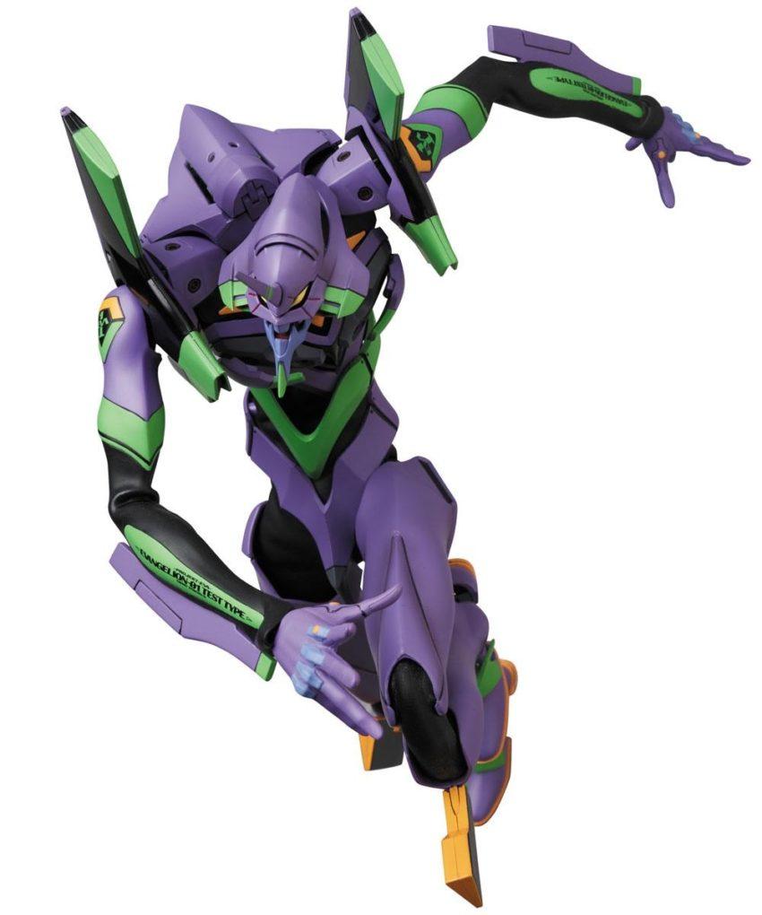 Evangelion 2.0 RAH NEO Action Figure Evangelion Shogo-ki New Color Ver-0